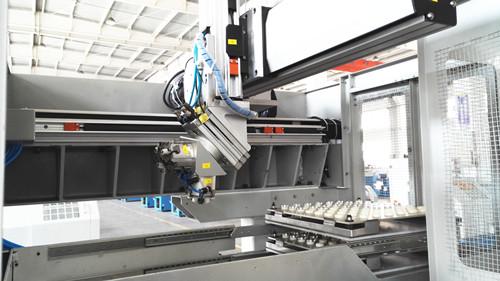 数控车床机械手/单台桁架上下料机械手