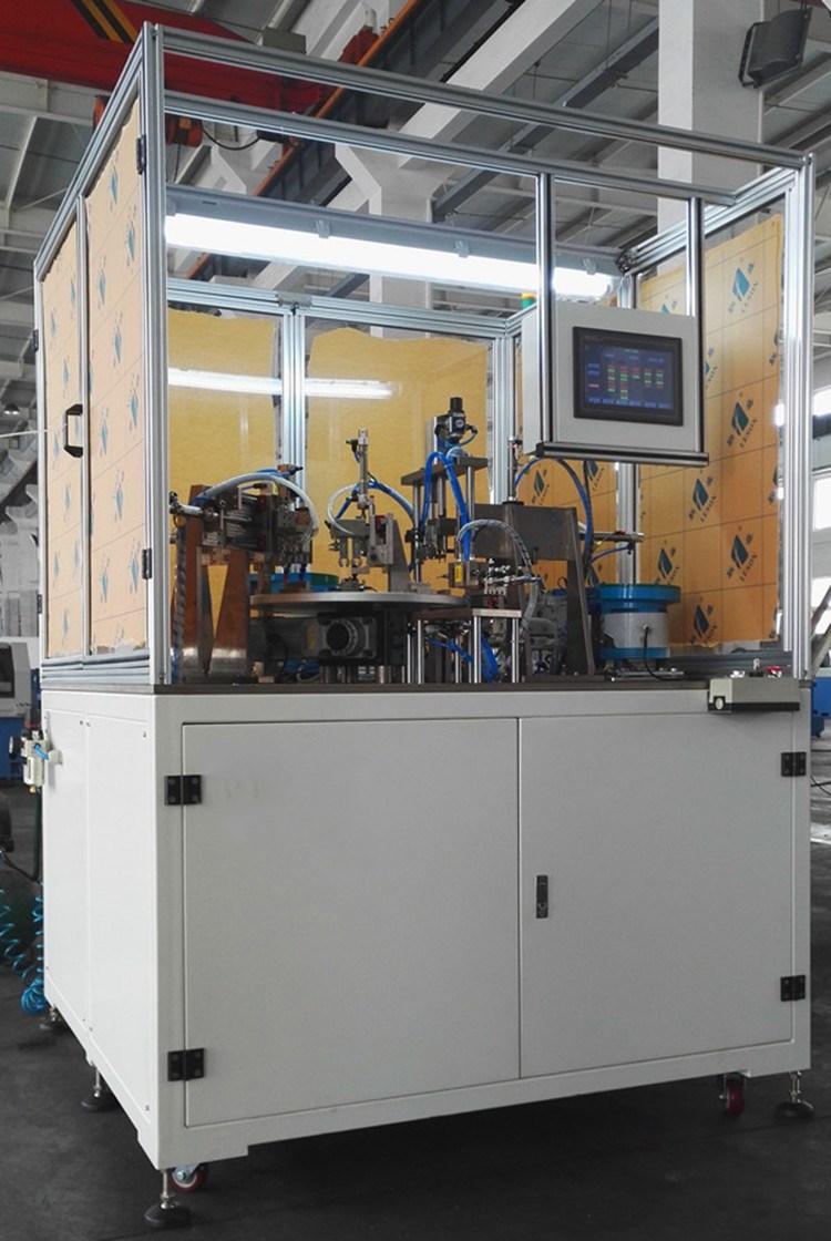 多工位转盘装配测试机