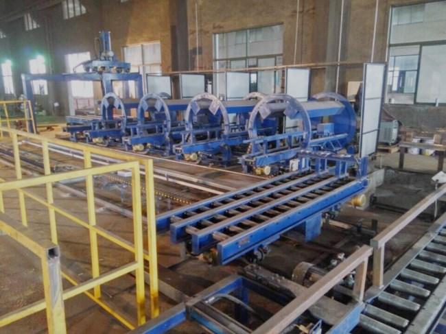 货叉焊接生产流水线