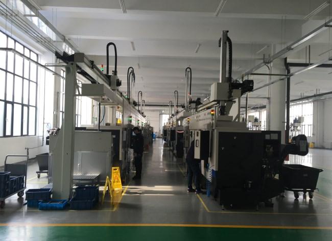 数控车床桁架机械手自动联线
