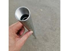 长管专用加工车床加工铝管螺纹样品
